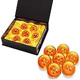 7 Piezas Bolas Dragon Ball, Bolas de Dragón 1 a 7 Estrellas con Caja de Regalo, Regalo de Año...
