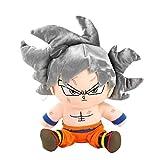 GWTRY 23 cm Silver Hair Son Goku Peluche Toys Versión de Anime Goku Muñecas Rellenas Regalo de...