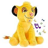 Disney Peluches Pequeños de Stitch, Simba y Dumbo, Peluche Bebe 28 cm, Disney Juguetes Interactivos...