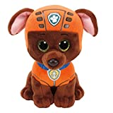 Ty- Paw Patrol Patrulla Canina, Zuma, Color marrón, Naranja, 23 cm (United Labels Ibérica 96324TY)