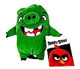 Rovio Angry Birds - Peluche de Angry Birds (con colgante, clip, llavero, aprox. 13 cm, para mochila,...