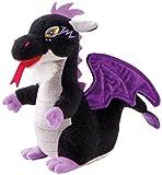 Trudi - Peluche electrónico Mini dragón, Color Negro (52428)