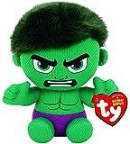 TY 41191 Reg Hulk-Marvel-Gorro, Multicolor