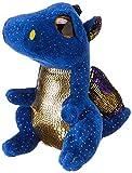 TY- Beanie Boo's Saffire, dragón, Color azul, 15 cm (United Labels Ibérica 36879TY) , color/modelo...