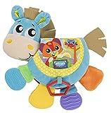 Juguetes Playgro Libro musical en forma de caballo Klipp Klapp, Juguete para bebés, A partir de 3...