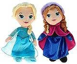Disney 201790–Peluche Frozen–Elsa & Anna, 30cm