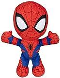 Spiderman Spiderman-71301 Peluche, 19 cm, Multicolor, (Famosa 760015038)