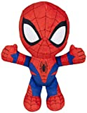 Spiderman Spiderman-71301 Spider-Man Peluche, 19 cm, Multicolor, (Famosa 760015038)