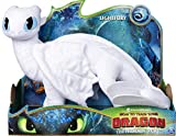 DRAGONS Peluche de dragón Furia Clara, 36 cm de Alto, a Partir de 4 años