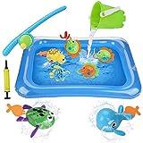 BBLIKE Juguete de Pesca para Niños, Juguete de la Flotando Pesca Conjunto para Niños, Juguetes de...