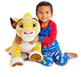 Disney - Peluche de Simba del 'Rey León' (tamaño XXL)