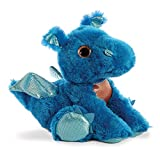Aurora World 60859Sparkle Cuentos Flash dragón de Peluche, Azul, 30,5cm