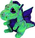 TY- Peluche, juguete, Color verde, 15 cm (United Labels Ibérica 36186TY) , color/modelo surtido